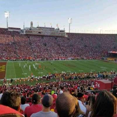 Los Angeles Memorial Coliseum, sección: 24L, fila: 57, asiento: 11