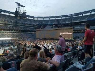 MetLife stadium, sección: 117, fila: 23, asiento: 5