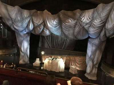 Majestic Theatre, sección: Front mezzanine, fila: C, asiento: 4