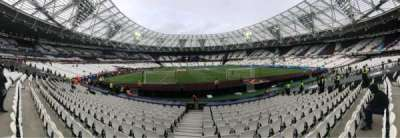 London Stadium, sección: 119, fila: 13