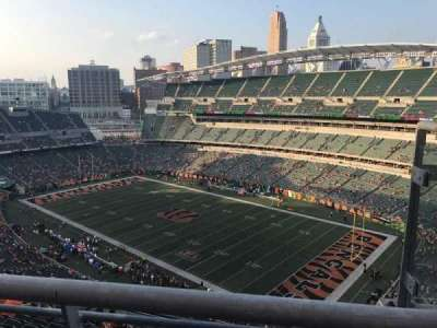 Paul Brown Stadium, sección: 304, fila: 13, asiento: 2