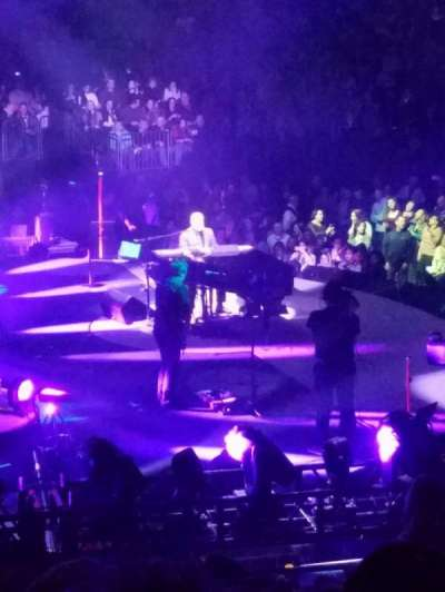 Madison Square Garden, sección: 114, fila: 16, asiento: 18