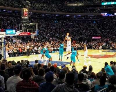 Madison Square Garden, sección: 104, fila: 3, asiento: 9