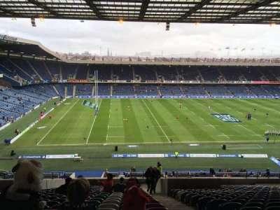 Murrayfield Stadium, sección: 32, fila: LL, asiento: 10