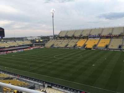 Mapfre Stadium, sección: 203, fila: 1, asiento: 6