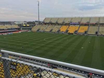 Mapfre Stadium, sección: 204, fila: 2, asiento: 7