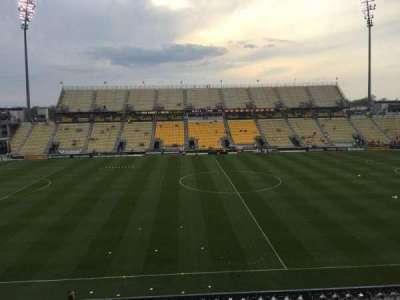 Mapfre Stadium, sección: 207, fila: 1, asiento: 19