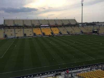 Mapfre Stadium, sección: 208, fila: 1, asiento: 13
