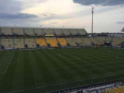 Mapfre Stadium, sección: 209, fila: 1, asiento: 13