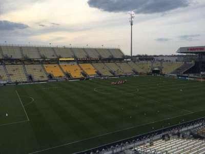 Mapfre Stadium, sección: 210, fila: 1, asiento: 2