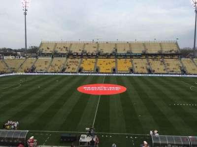 Mapfre Stadium, sección: 225, fila: 1, asiento: 19