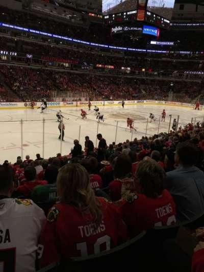 United Center, sección: 103, fila: 15, asiento: 13