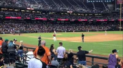 Chase Field, sección: 113, fila: 11, asiento: 9