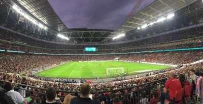 Wembley Stadium, sección: 112, fila: 31, asiento: 27