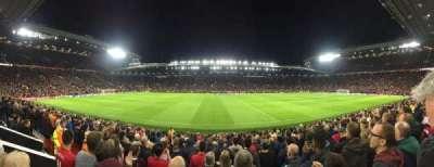 Old Trafford, sección: N1406, fila: 1, asiento: 173