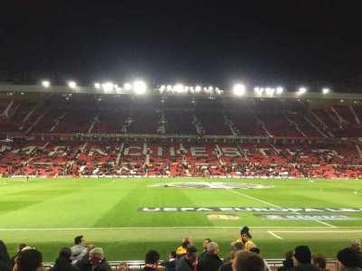 Old Trafford, sección: STH124, fila: 2, asiento: 151