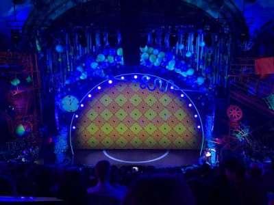 Palace Theatre (Broadway), sección: MEZZ, fila: J, asiento: 102