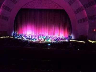 Radio City Music Hall, sección: 2nd Mezzanine 3, fila: A, asiento: 312