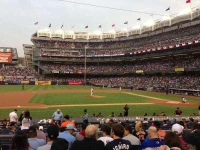 Yankee Stadium sección 124