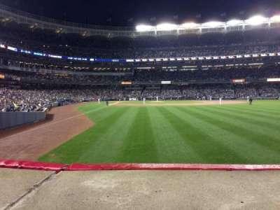 Yankee Stadium sección 106