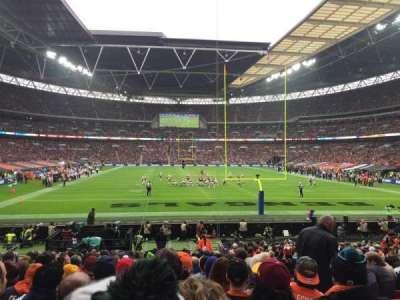 Wembley Stadium, sección: 112, fila: 22, asiento: 19