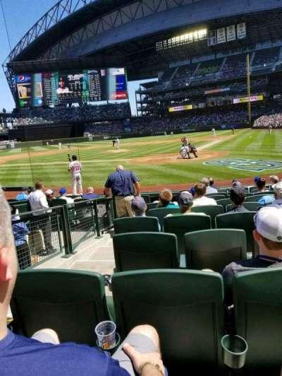 Safeco Field, sección: 132, fila: 10, asiento: 15