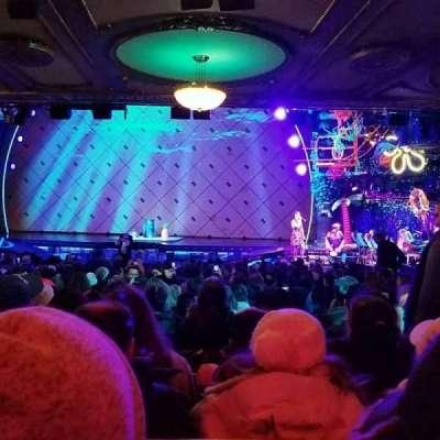 Palace Theatre (Broadway), sección: Orch, fila: ZZ, asiento: 122