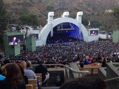 Hollywood Bowl, sección: U3, fila: 6, asiento: 1