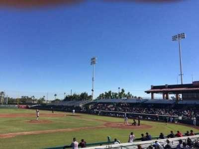 Scottsdale Stadium, sección: 213, fila: K, asiento: 6