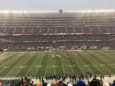 Soldier Field, sección: 338, fila: 14, asiento: 4