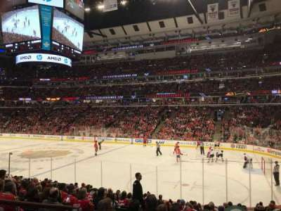 United Center, sección: 120, fila: 15, asiento: 12
