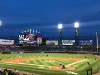 Guaranteed Rate Field, sección: 134, fila: 29, asiento: 1