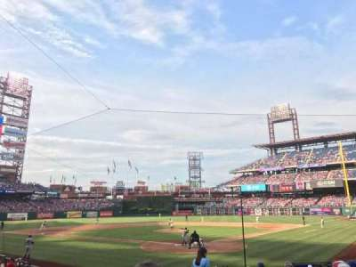 Citizens Bank Park, sección: Diamond D, fila: 16, asiento: 2