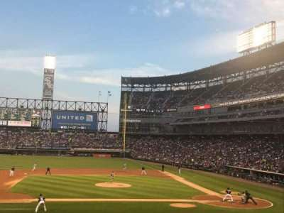 Guaranteed Rate Field, sección: 139, fila: 27, asiento: 1