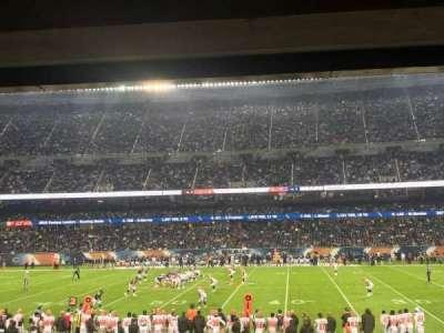 Soldier Field, sección: 108, fila: 16, asiento: 19