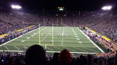 Notre Dame Stadium, sección: 118, fila: wc, asiento: 9