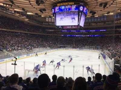 Madison Square Garden, sección: 103, fila: 13, asiento: 7