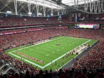 University of Phoenix Stadium, sección: 453, fila: 9, asiento: 9