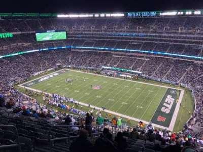 MetLife Stadium, sección: 334, fila: 26, asiento: 25