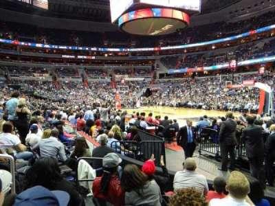 Capital One Arena, sección: 103, fila: E, asiento: 5