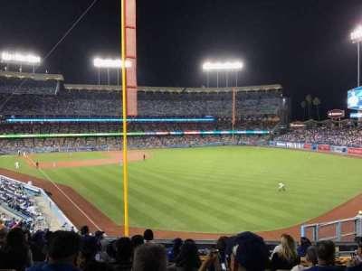 Dodger Stadium, sección: 166LG, fila: K, asiento: 4