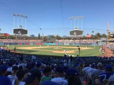 Dodger Stadium, sección: 3FD, fila: O, asiento: 1
