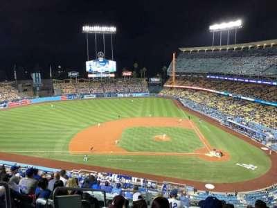 Dodger Stadium, sección: 11RS, fila: M, asiento: 19
