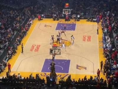 Staples Center, sección: 309, fila: 5, asiento: 5