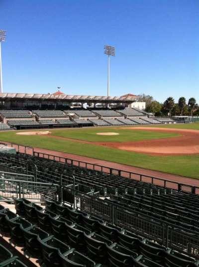 Ed Smith Stadium, sección: 203, fila: 7, asiento: 12