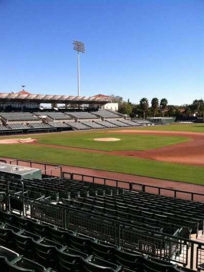 Ed Smith Stadium, sección: 205, fila: 7, asiento: 12