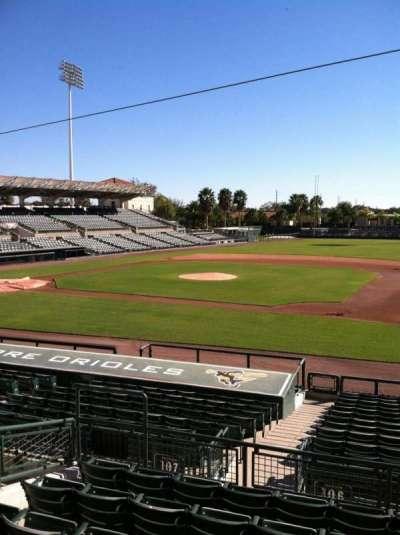 Ed Smith Stadium, sección: 207, fila: 7, asiento: 12
