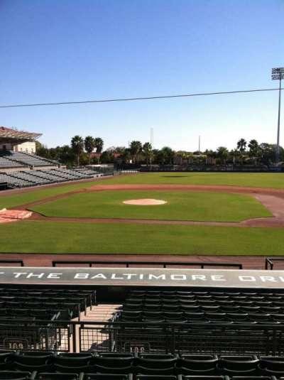 Ed Smith Stadium, sección: 209, fila: 7, asiento: 12