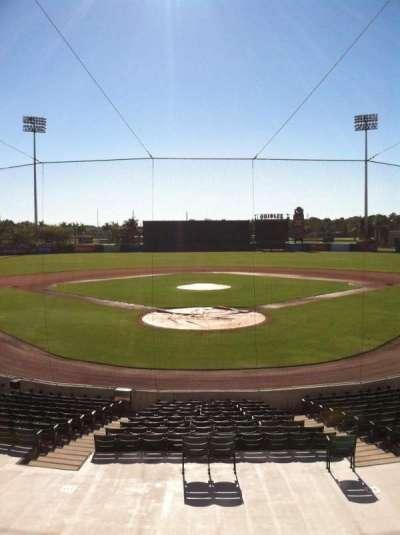 Ed Smith Stadium, sección: 213, fila: 8, asiento: 9