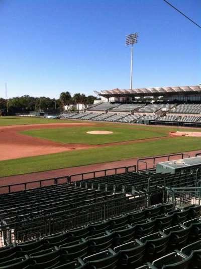 Ed Smith Stadium, sección: 221, fila: 7, asiento: 12